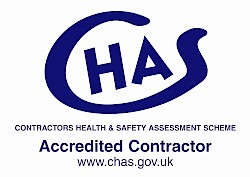 CHAS - Contractors Health & Safety Assessment Scheme Accredited Contractor