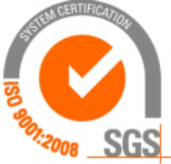 We hold a SGS ISO 9001:2008 System Certification