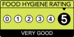 Café Refresh has a Hygiene Rating of 5 out of 5
